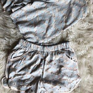 Matching lace set